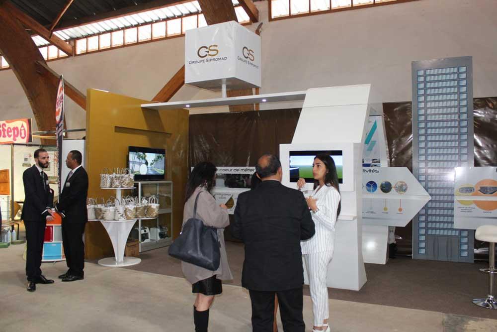 Le Groupe Sipromad expose au Salon des Industries de Madagascar
