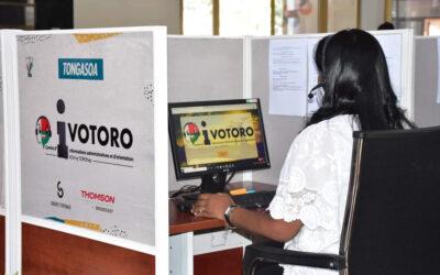 Le Centre d'informations administratives et d'orientation « Ivotoro » équipé par Thomson Broadcast